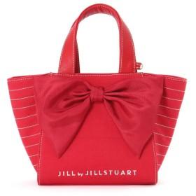 【公式/JILL by JILLSTUART】マッシブリボントートバッグ(小)/女性/キャンバスバッグ/レッド/サイズ:FR/
