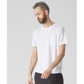 ABAHOUSE / アバハウス 【YZO】ロゴシリコンプリントTシャツ