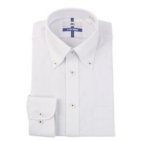 【洋服の青山:トップス】【長袖】【ICE TOUCH】【ボタンダウン】スタンダードワイシャツ