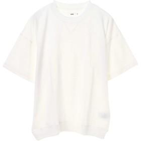 【6,000円(税込)以上のお買物で全国送料無料。】mens 半袖ミニ裏毛スウェット