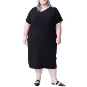 ユニバーサルスタンダード レディース ワンピース トップス Universal Standard Mary Midi Dress (Plus Size) Black