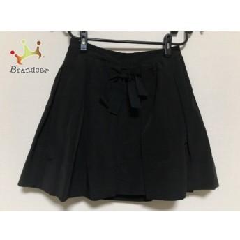 シーバイクロエ SEE BY CHLOE ミニスカート レディース 美品 黒 リボン/プリーツ 値下げ 20190913