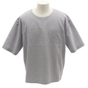 【Super Sports XEBIO & mall店:トップス】シアサッカーアンサンブルTシャツ 9551041-GRY
