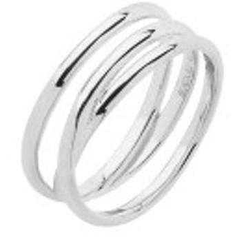 マリア ブラック レディース リング アクセサリー Maria Black Heroes Emily Wrap Ring High Polished Silver