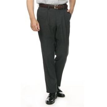 【洋服の青山:パンツ】【ウォッシャブル】【コットン混】【ワンタック】カジュアルパンツ