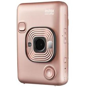 ハイブリッドインスタントカメラ instax mini LiPlay(インスタックス ミニ リプレイ) ブラッシュゴールド INS-HM1-BLUSHGOLD