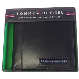 トミー ヒルフィガー TOMMY HILFIGER 折財布 メンズ 31TL25X023-001 ブラック