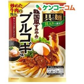 キッコーマン 具麺 韓国風すきやき プルコギ味 ( 116g )/ キッコーマン