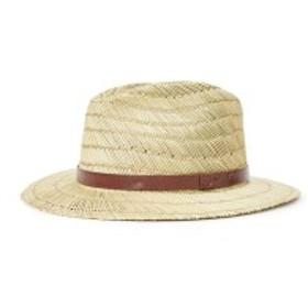 ブリクストン メンズ 帽子 アクセサリー Brixton Messer Straw Fedora Tan
