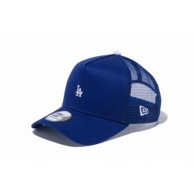 【ニューエラ公式】 9FORTY A-Frame トラッカー MLB カスタム ミニロゴ ロサンゼルス・ドジャース ダークロイヤル メンズ レディース 56.8 - 60.6cm MLB キャップ 帽子 12082879 NEW ERA メッシュキャップ