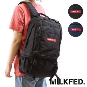 【日本正規品】MILKFED. ミルクフェド リュック BIG BACKPACK BAR 2 ビッグ バックパック バー2 デイパック (03171039 FW17)