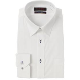 【洋服の青山:トップス】【長袖】【OEKO-TEX(R)】【ストレッチ】【レギュラーカラー】スタイリッシュワイシャツ