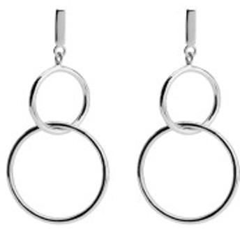 カレンロンドン レディース ピアス&イヤリング アクセサリー Karen London Mykonos Hoop Earrings Silver