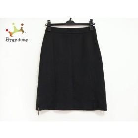 ニジュウサンク 23区 スカート サイズ36 S レディース 美品 黒   スペシャル特価 20190923