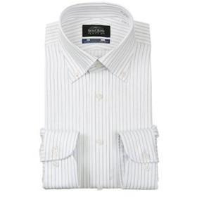 【洋服の青山:トップス】【長袖】【NON IRONMAX COOL】【ボタンダウン】スタンダードワイシャツ