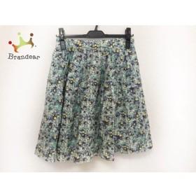 マッキントッシュフィロソフィー スカート サイズ36 M レディース 美品 花柄  値下げ 20190911