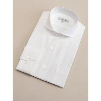 【SALE(三越)】<ダーバン/DURBAN> 【D'URBAN】カッタウェイホワイトダイヤドビードレスシャツ(3709221412) ホワイト 【三越・伊勢丹/公式】