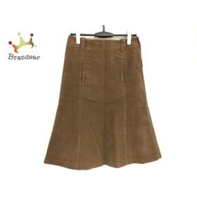 マーガレットハウエル MargaretHowell スカート サイズ2  M レディース ブラウン   スペシャル特価 20190912