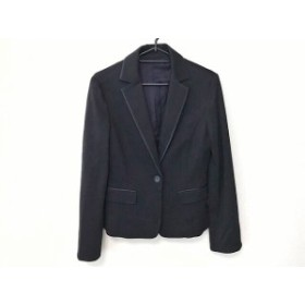 ノーリーズ NOLLEY'S スカートスーツ サイズ40 M レディース 美品 ダークネイビー sophi【中古】