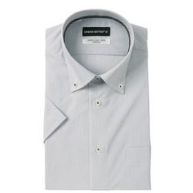 【洋服の青山:トップス】【半袖】【ボタンダウン】スタイリッシュワイシャツ