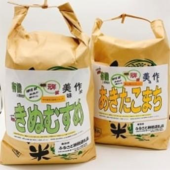 令和元年産新米 きぬむすめ・あきたこまち食べ比べセット(各5kg)