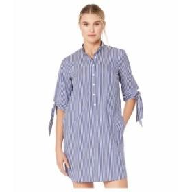 マイケルコース レディース ワンピース トップス Vertical Railroad Dress Twilight Blue
