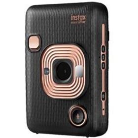 ハイブリッドインスタントカメラ instax mini LiPlay(インスタックス ミニ リプレイ) エレガントブラック INS-HM1-ELEGANTBLACK