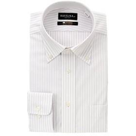 【洋服の青山:トップス】【長袖】【綿100%】【NON IRONMAX】【ボタンダウン】スタンダードワイシャツ