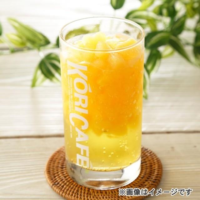 <マンゴー>ひんやり氷カフェ