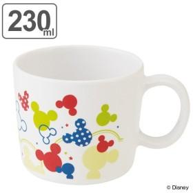 マグカップ 230ml コップ メラミン製 食器 ミッキーマウス カラフルポップ ディズニー キャラクター ( 食洗機対応 マグ カップ コップ 割れにくい ミッキー )