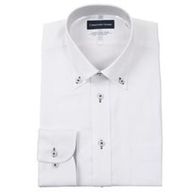【洋服の青山:トップス】【長袖】【Smart Biz Cool】【ボタンダウン】スタンダードワイシャツ