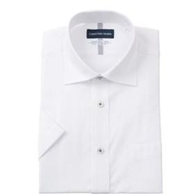 【洋服の青山:トップス】【半袖】【Smart Biz Cool】【ワイドカラー】スタンダードワイシャツ