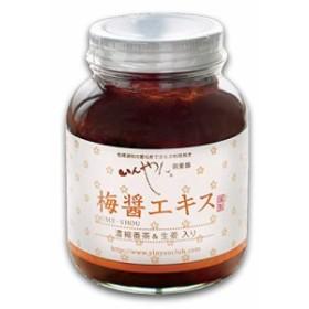 梅醤エキス 濃縮番茶&生姜入り 250g 【国内産有機梅干】【天然醸造醤油使用】