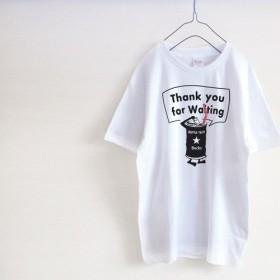ウェイター モノクロ Tシャツ