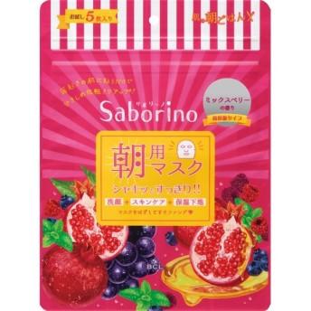 BCL サボリーノ 目ざまシート 完熟果実の高保湿タイプ 5枚入り