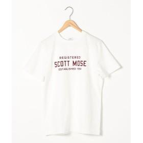 【40%OFF】 コーエン ロゴプリントTシャツ メンズ WHITE S 【coen】 【セール開催中】