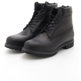 12%OFF Timberland (ティンバーランド) LeatherUpperOverAnkleNon-AthleticRubberSole BLACK