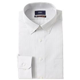 【洋服の青山:トップス】【長袖】【NON IRONMAX】【OEKO-TEX(R)】ボタンダウンスタイリッシュワイシャツ