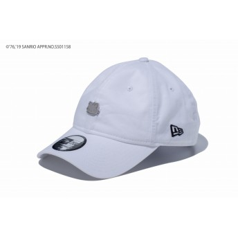 NEW ERA ニューエラ 9THIRTY クロスストラップ HELLO KITTY ハローキティ メタルプレート ホワイト アジャスタブル サイズ調整可能 ベースボールキャップ キャップ 帽子 メンズ レディース 56.8 - 60.6cm 12082887 NEWERA