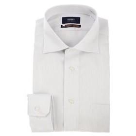 【洋服の青山:トップス】【長袖】【NON IRONMAX(R)】【OEKO-TEX(R】ワイドカラースタイリッシュワイシャツ