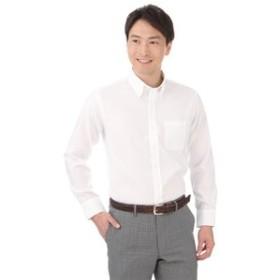 【洋服の青山:トップス】ボタンダウンカジュアルシャツ【COOL MAX】