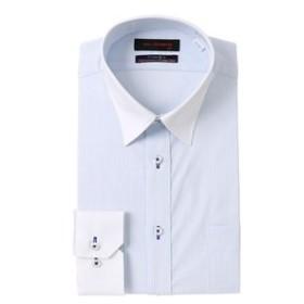 【洋服の青山:トップス】【長袖】【OEKO-TEX(R)】【ストレッチ】【クレリック】スタイリッシュワイシャツ