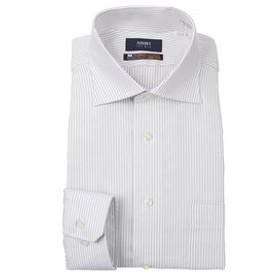 【洋服の青山:トップス】【長袖】【NON IRONMAX】【ワイドカラー】スタイリッシュワイシャツ