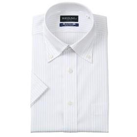 【洋服の青山:トップス】【半袖】【NON IRONMAX COOL】【ボタンダウン】スタンダードワイシャツ