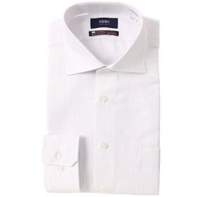 【洋服の青山:トップス】【長袖】【NON IRONMAX】【OEKO-TEX(R)】ワイドカラースタイリッシュワイシャツ
