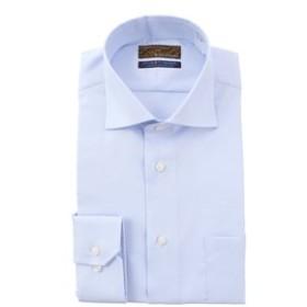 【洋服の青山:トップス】【長袖】【ワイドカラー】スタイリッシュワイシャツ