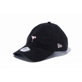 【ニューエラ公式】 9THIRTY クロスストラップ ミニロゴ カクテル ブラック メンズ レディース 56.8 - 60.6cm キャップ 帽子 12082895 NEW ERA
