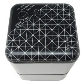 スヌーピー スクエア ランチケース (ランチボックス/弁当箱) ブラック コウシ スタディ ランチ用品 (ORSN)