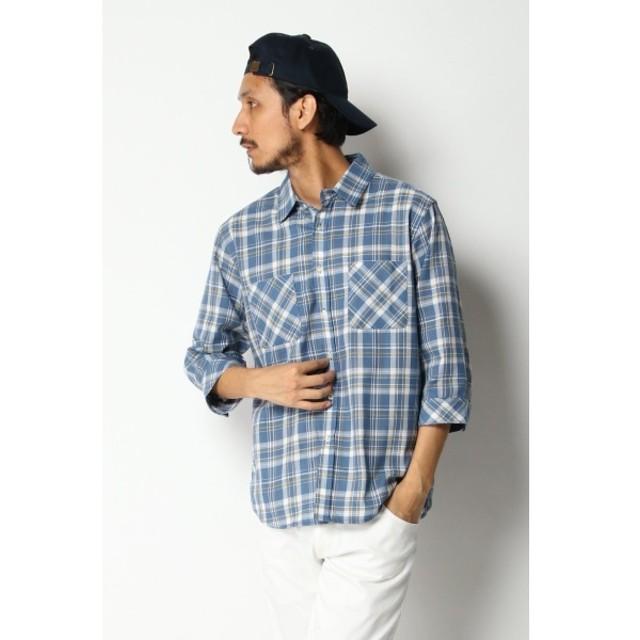 [マルイ]【セール】7ブドビーチェックシャツ/イッカ メンズ(ikka)