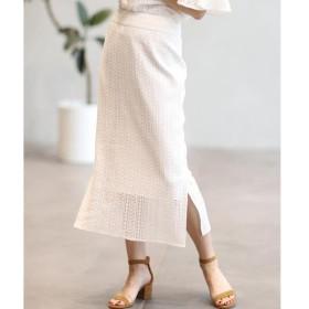 INED / イネド デザインレーススカート